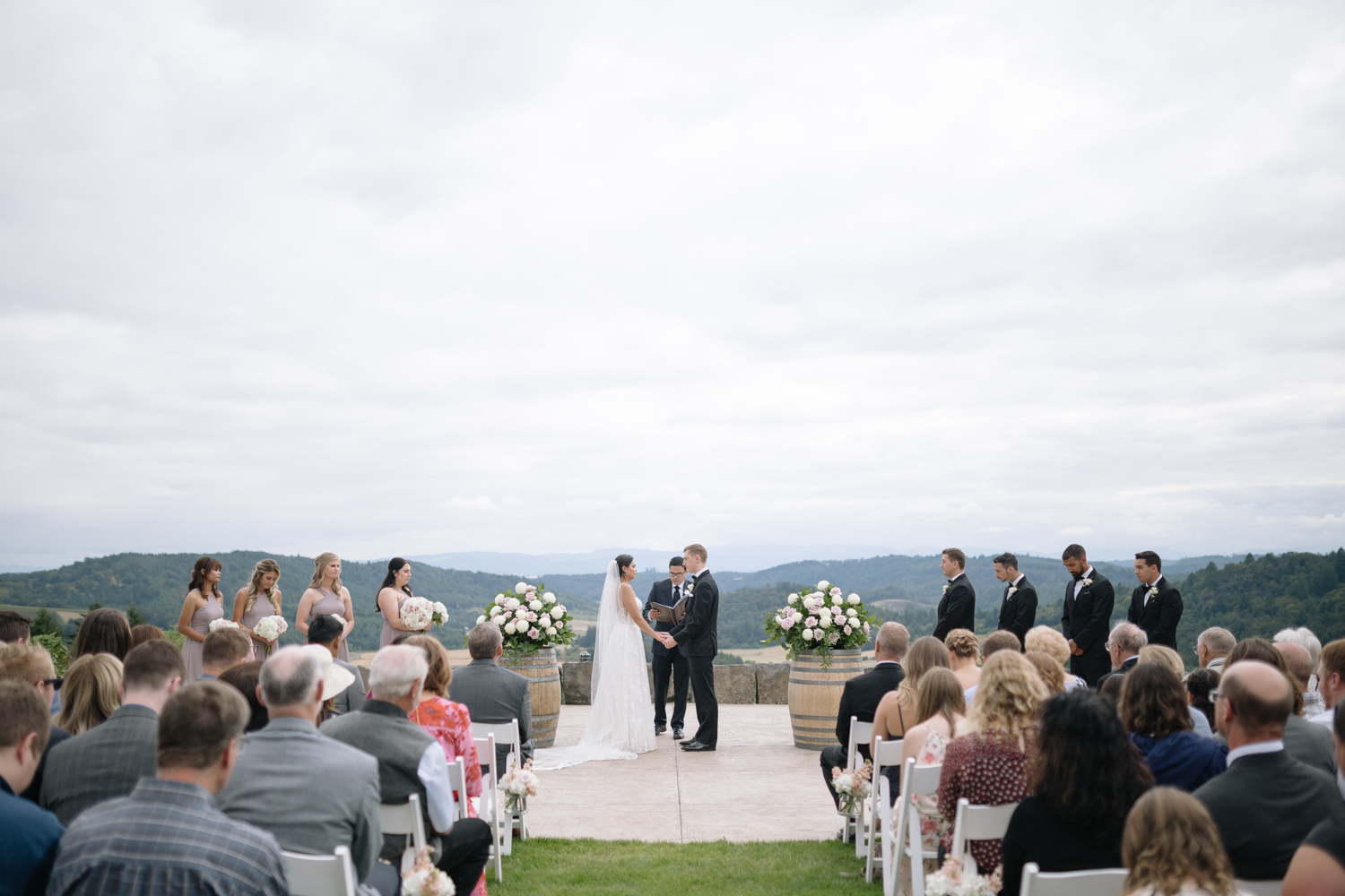 Youngberg Hill Vineyard Wedding in Wine Country Oregon - Corrie Mick Photography-314.jpg