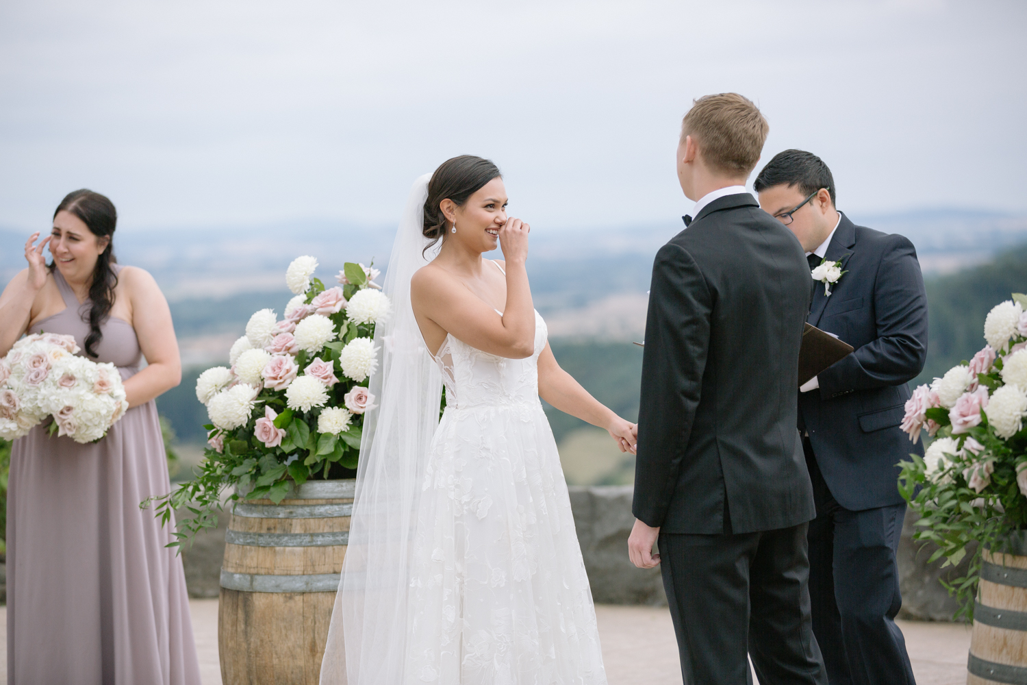 Youngberg Hill Vineyard Wedding in Wine Country Oregon - Corrie Mick Photography-306.jpg
