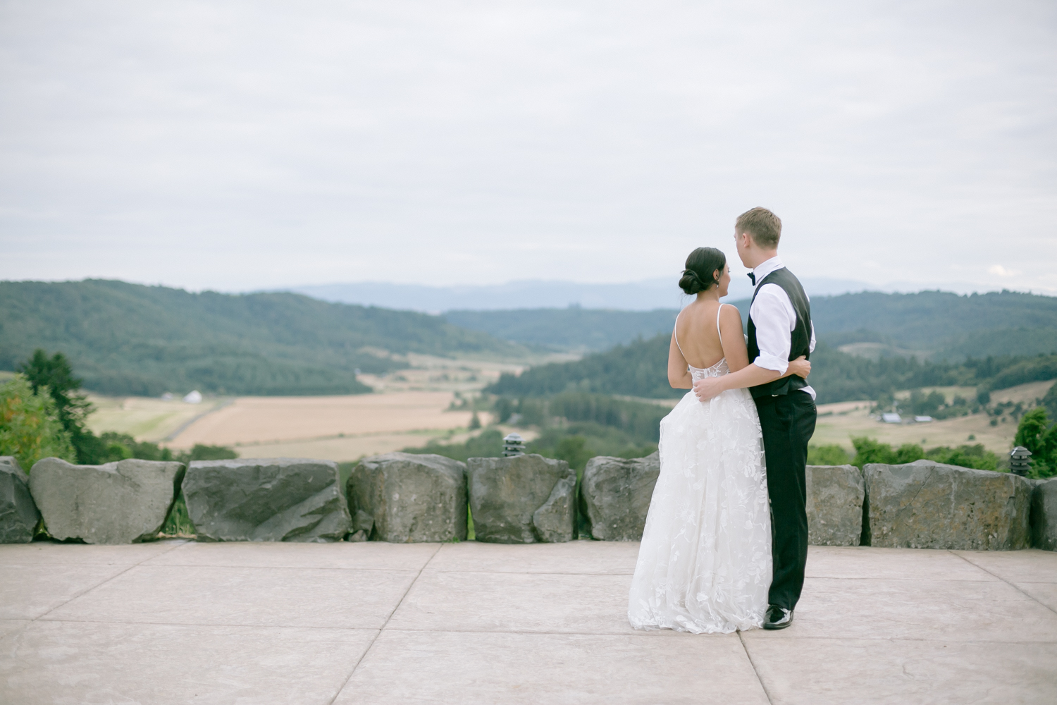 Youngberg Hill Vineyard Wedding in Wine Country Oregon - Corrie Mick Photography-445.jpg