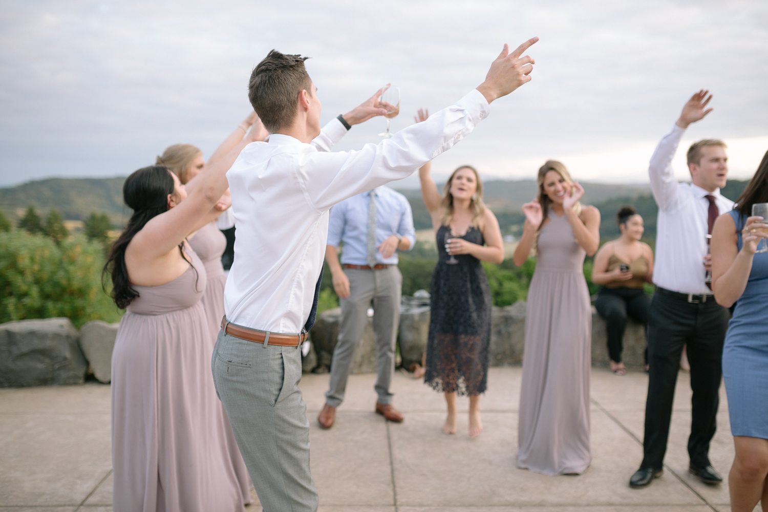 Youngberg Hill Vineyard Wedding in Wine Country Oregon - Corrie Mick Photography-573.jpg