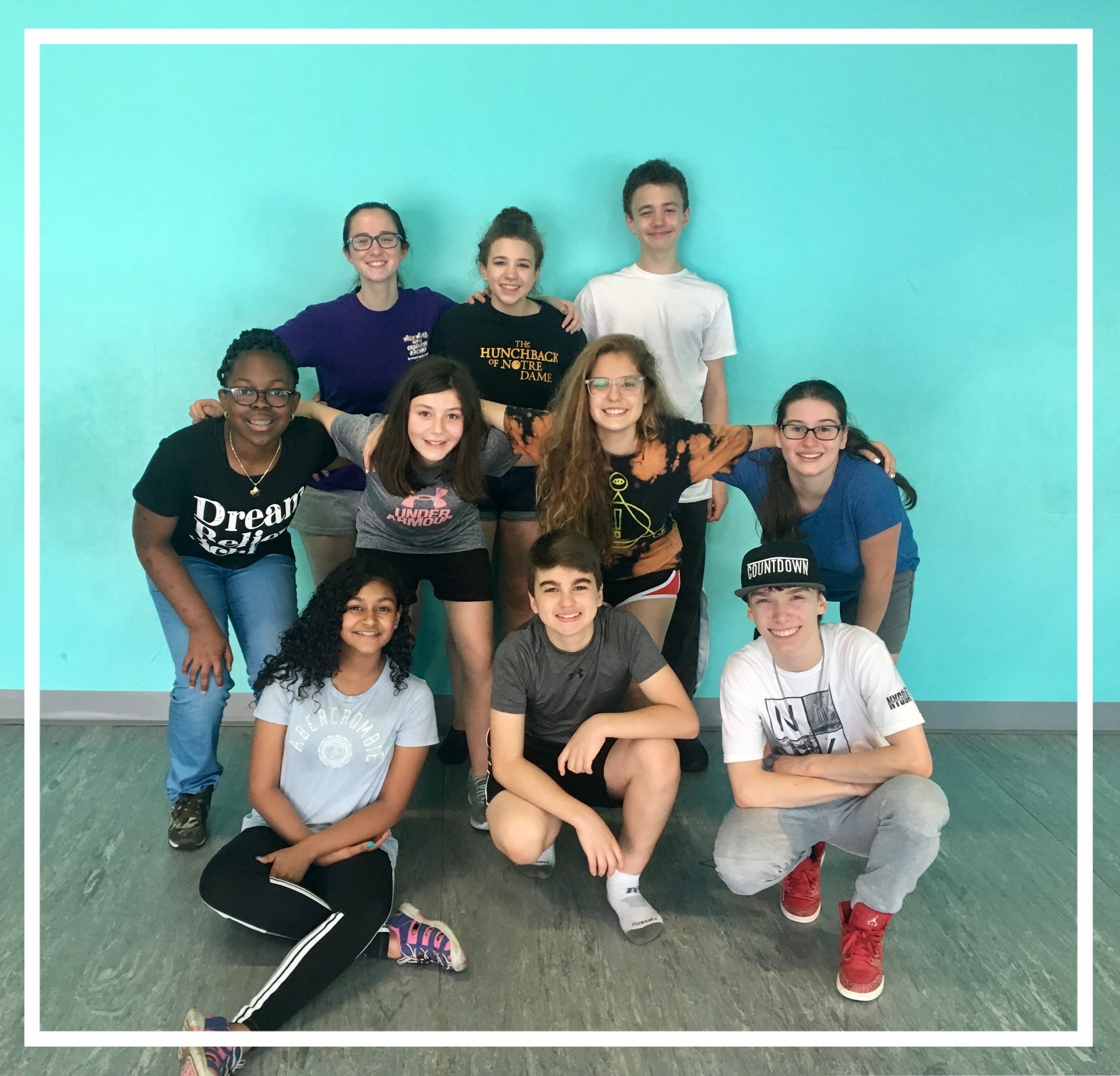 TVAI Studio Class allows students to bond and learn from one another!