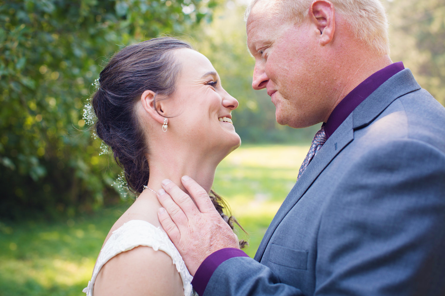 """""""Emily did a fantastic job with my wedding! The pictures turned out perfect, she's extremely flexible, and has great enthusiasm!""""  -Christy P."""