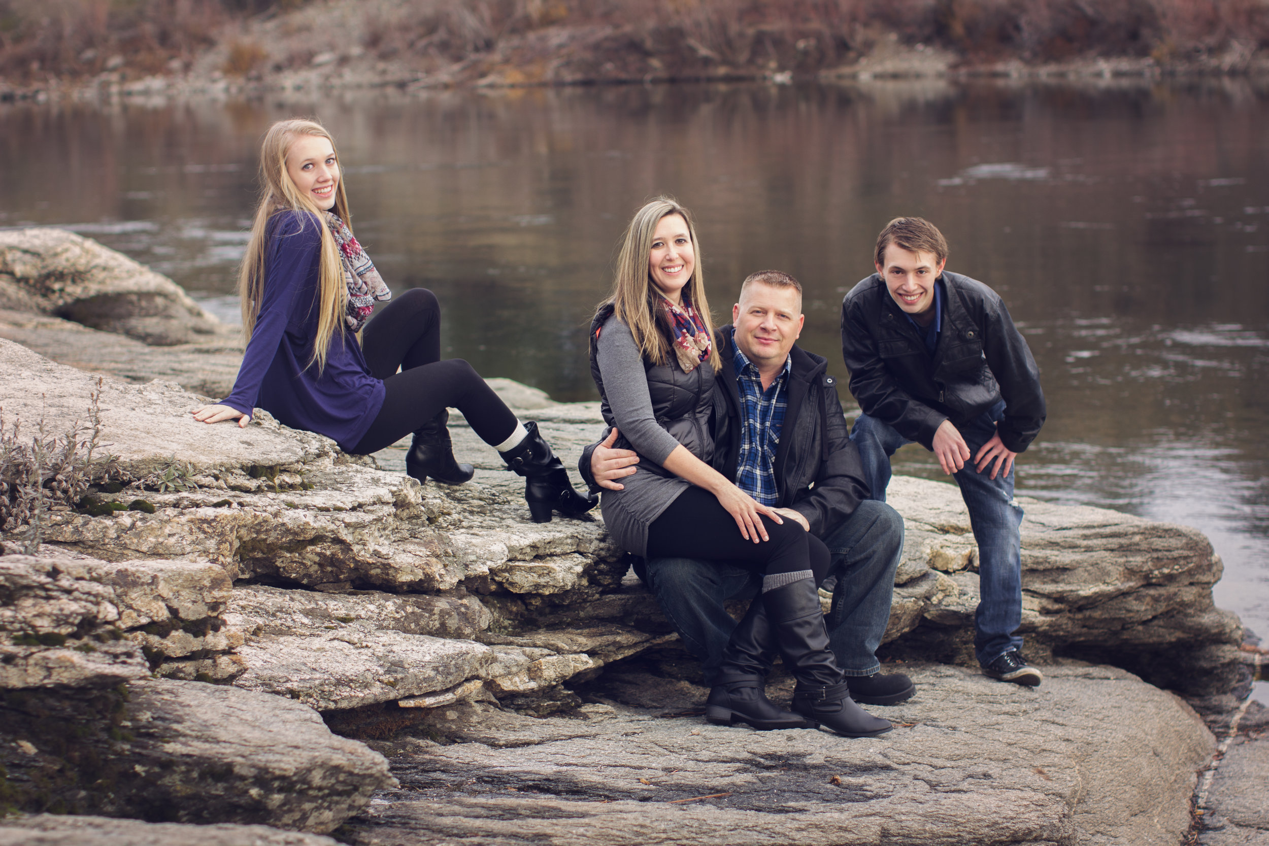 """""""Emily did our family pictures and they were awesome! I wanted them as Christmas gifts and put in a request to have pictures taken in November. Emily had them back to me in plenty of time to have them printed and wrapped for Christmas. The pictures were a hit with every family member.""""  -Erica S."""