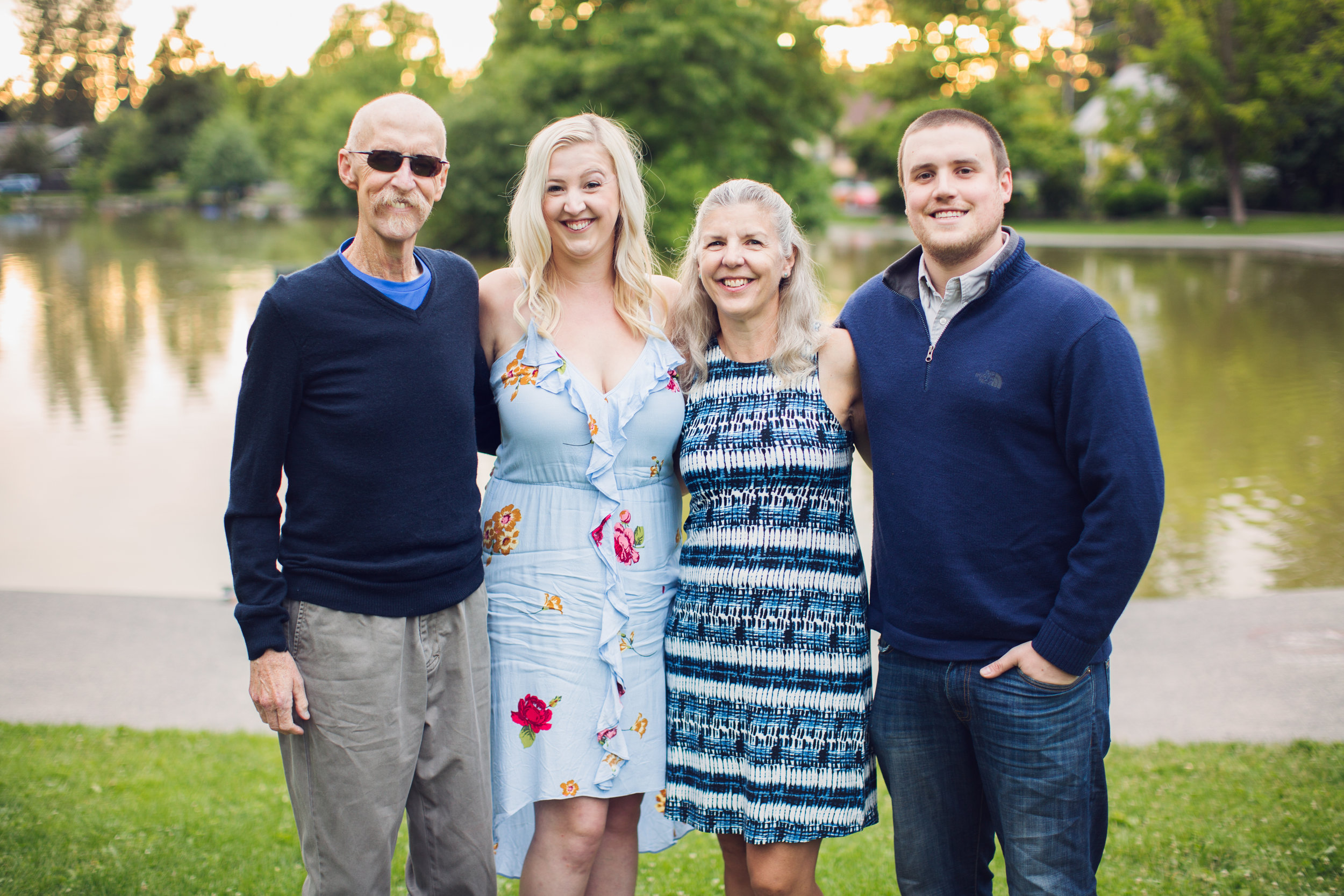 """""""Our family photo session with Emily was a great experience. She was professional and friendly, and wonderfully patient and persistent. Emily has an excellent eye for light, color, background, and arrangement of her subjects. Our photos were beautiful, and we will treasure them always.""""  -Katherine H."""