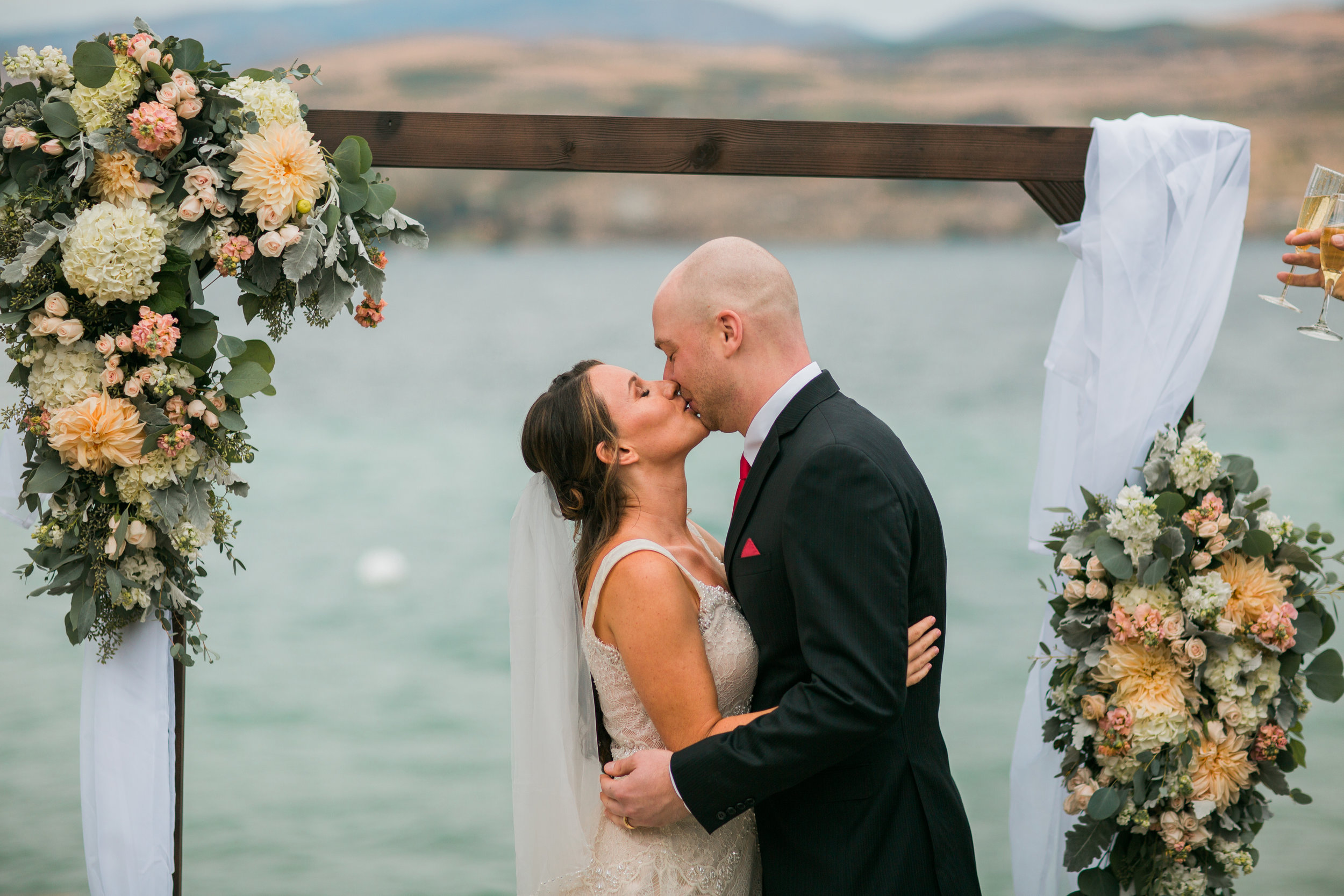 Lake Chelan, WA Wedding | Emily Eliza Photo & Design