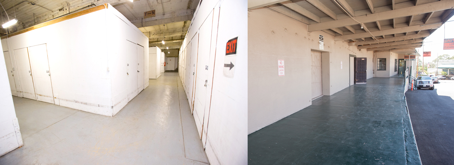 Our units are available in a variety of different shapes and sizes, and we have an easy access loading dock
