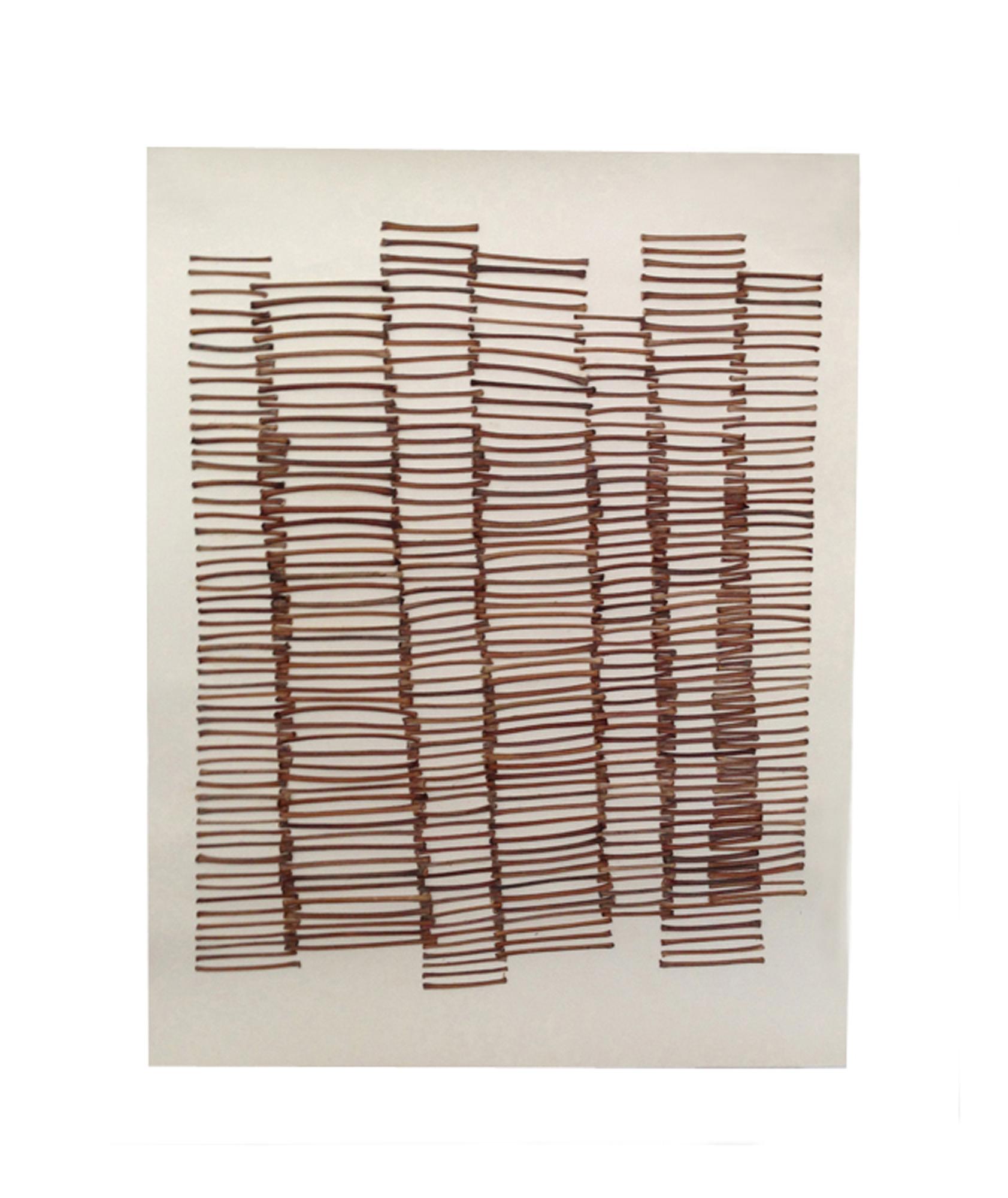 """b. zarina   sticks on paper 14"""" x 18"""""""