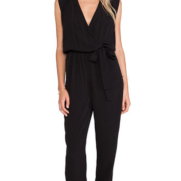 Sleek Black Jumpsuit