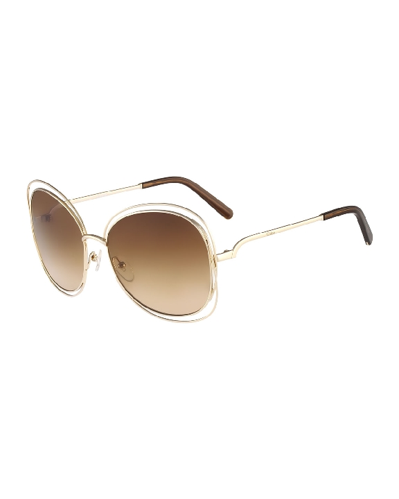 Rose Gold Face Flattering Sunglasses