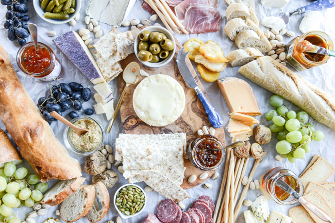 Gorgeous Cheese Platters