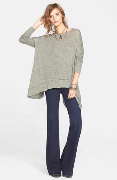 Free People | Gummy Mid-Rise Flare Jeans | Nordstrom