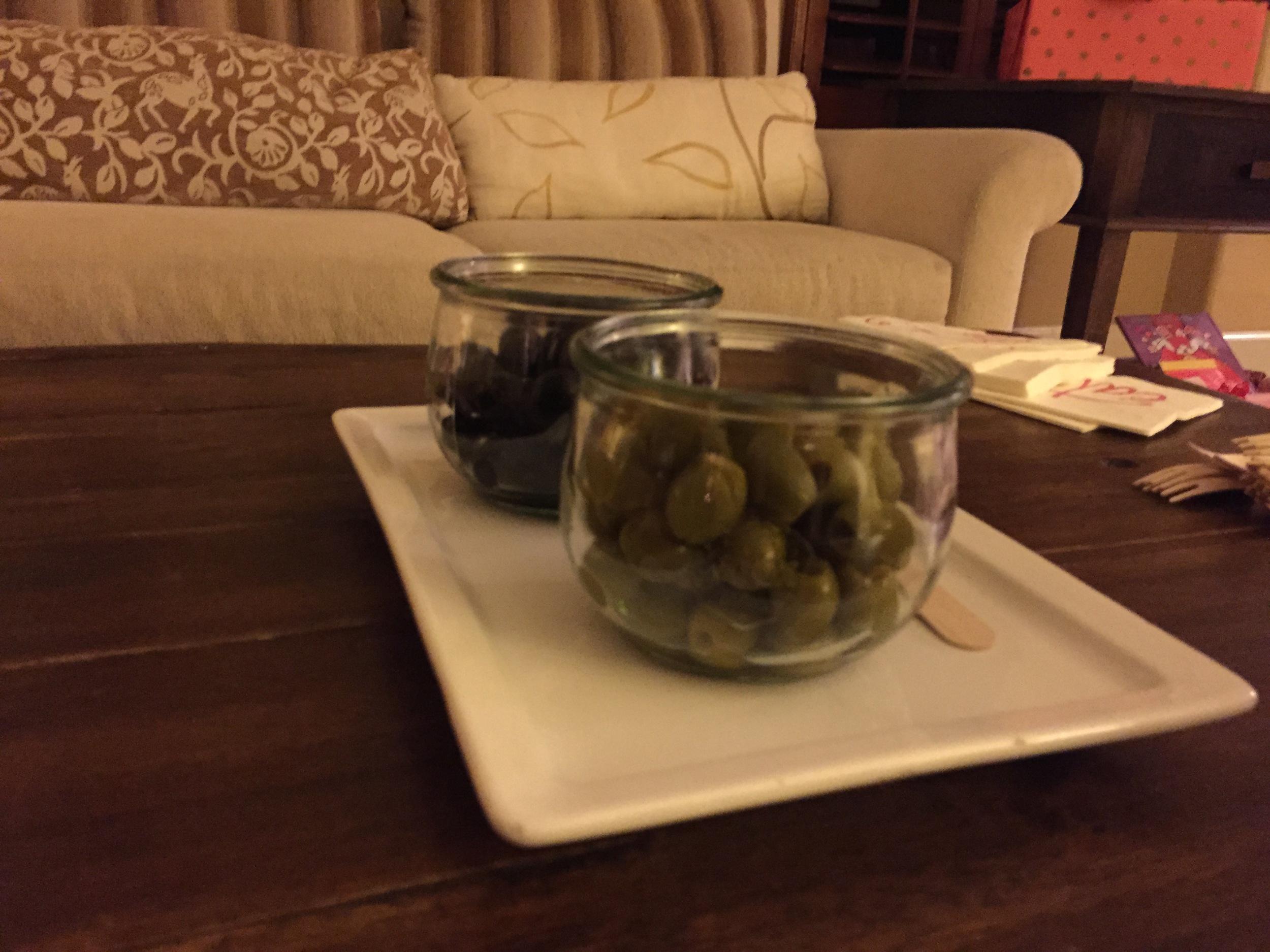 Weck Jars and Italian Olives