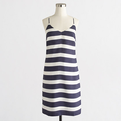 J. Crew Factory Printed Racerback Dress
