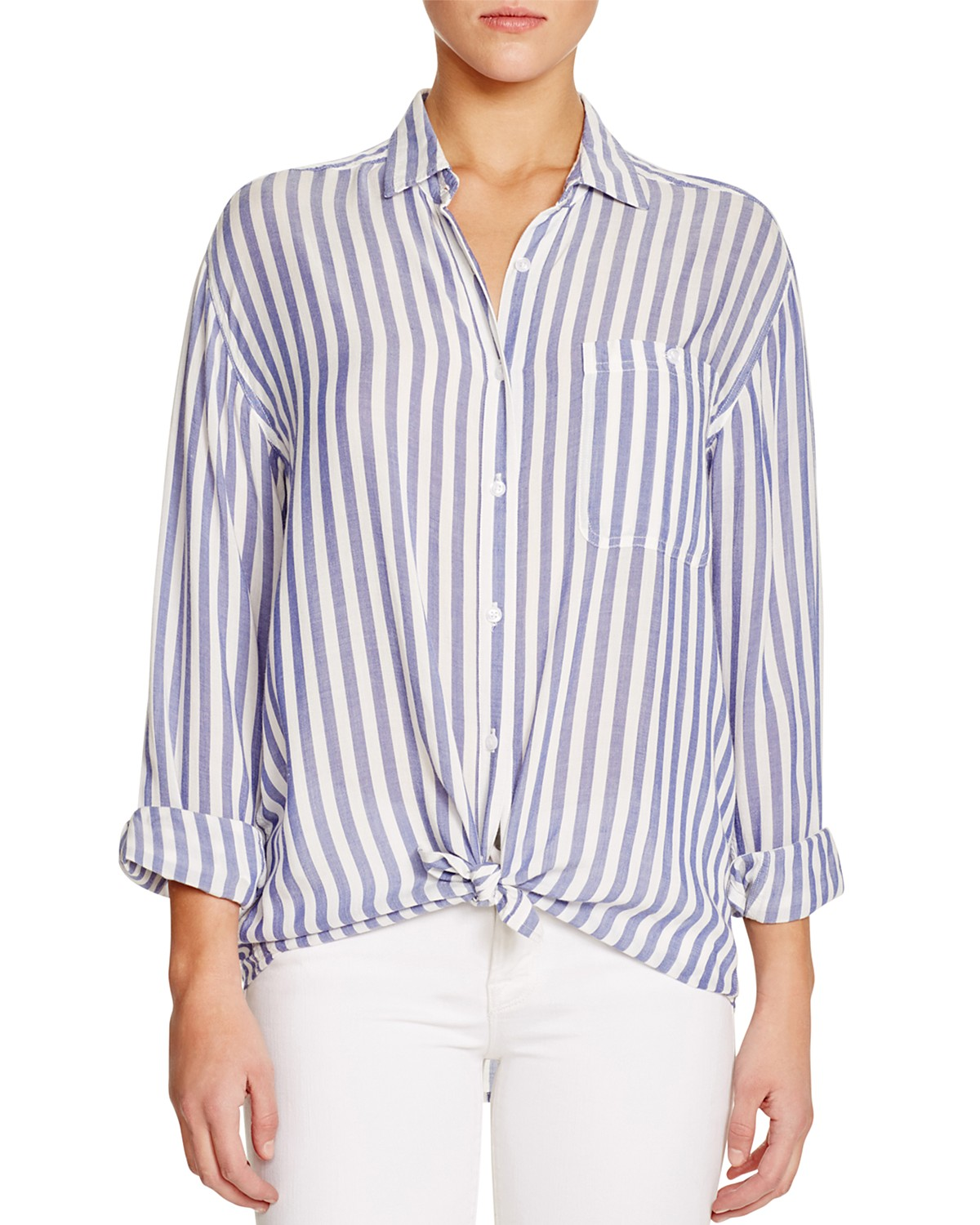Rails Daniela Striped Shirt