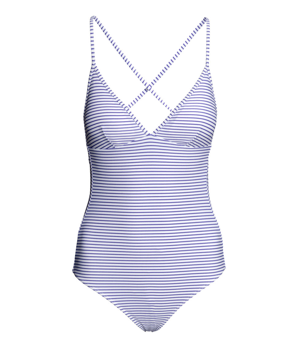 Striped Swim Suit | H&M