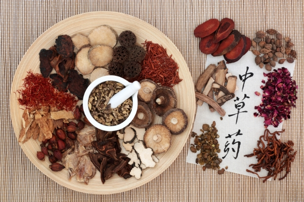 An example of bulk Chinese herbs
