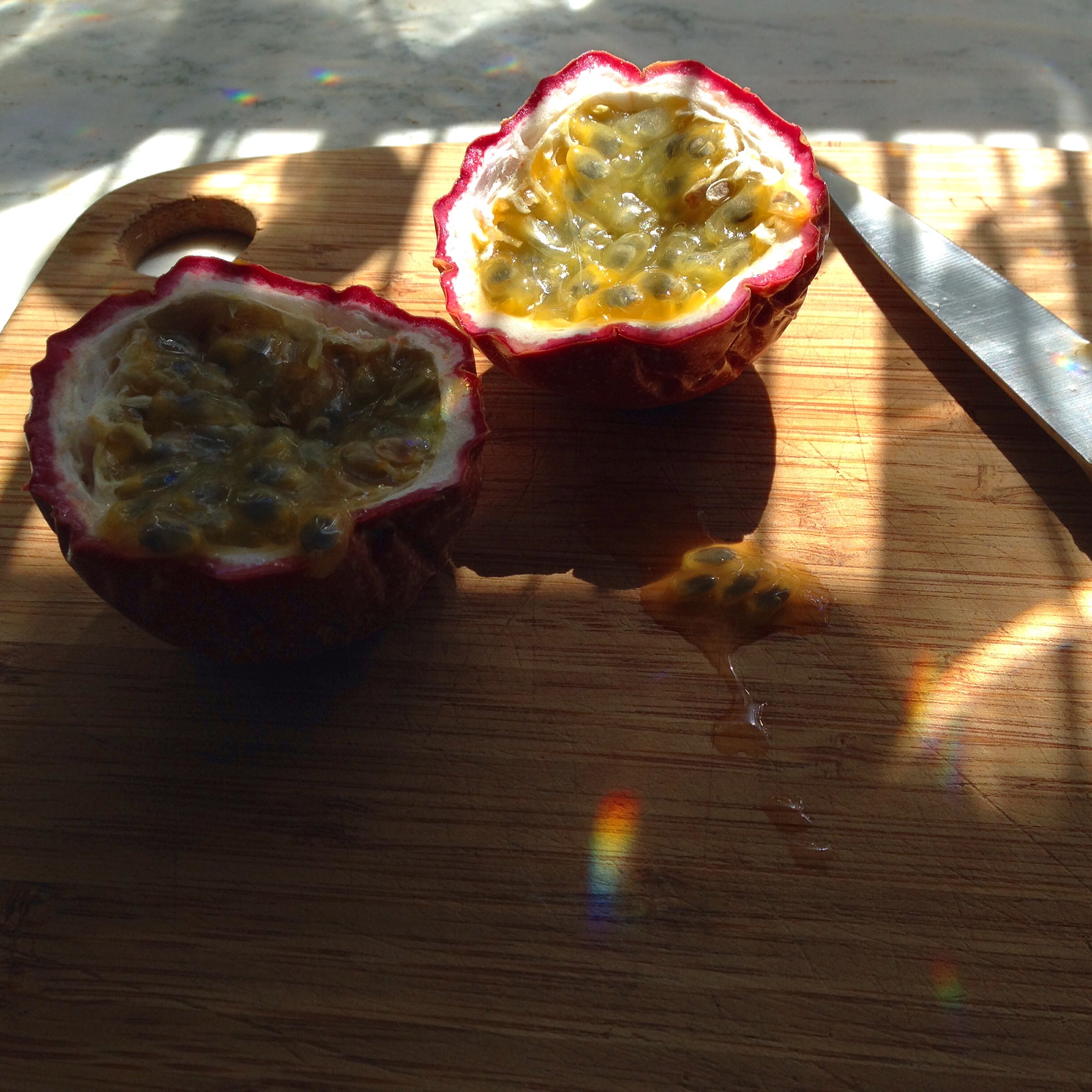 Homegrown Passion Fruit