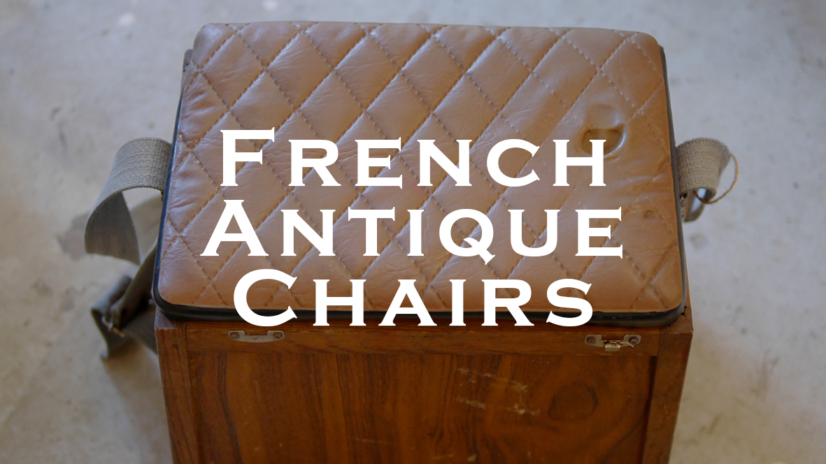 { French Antique Lightings }