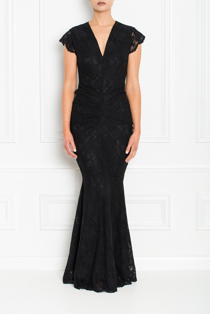 ARIANNA LACE FISHTAIL MAXI BLACK FRONT AW19-72.jpg