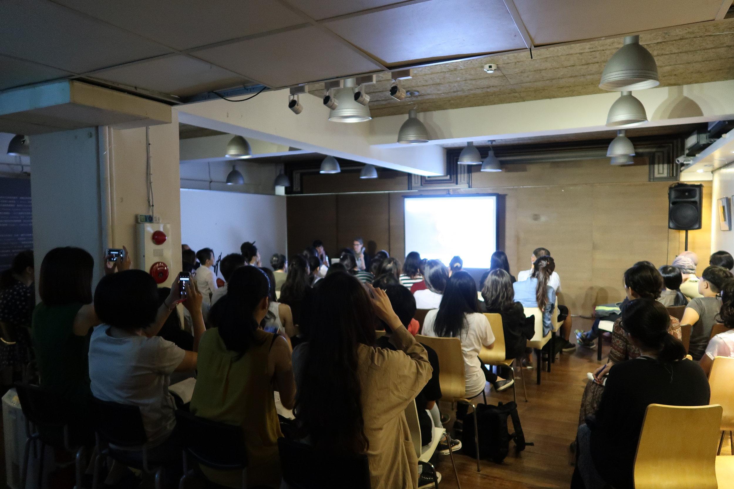 Gitte Nygaard opening artist talk