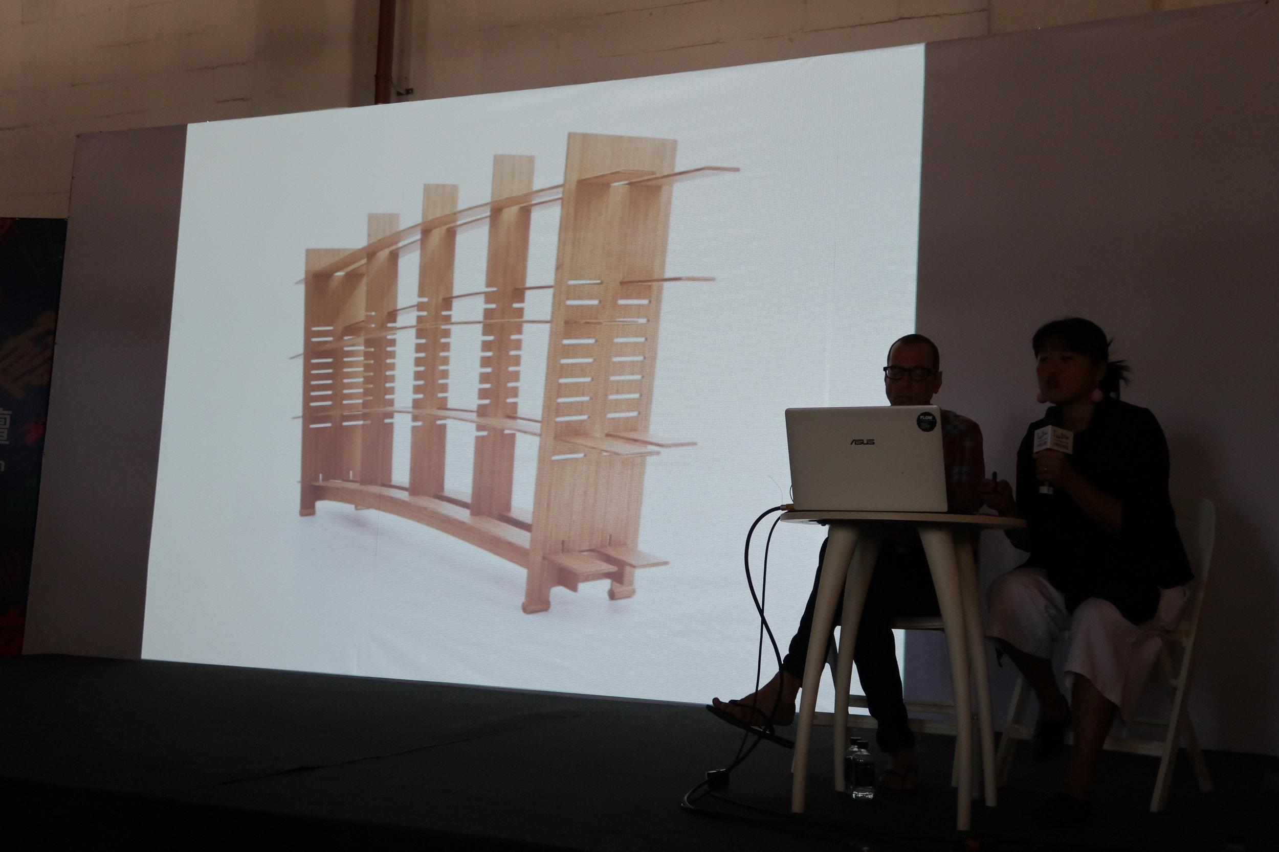 lecture at Taiwan Designer's Week