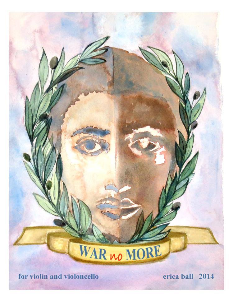 war no more  - for violin and violoncello