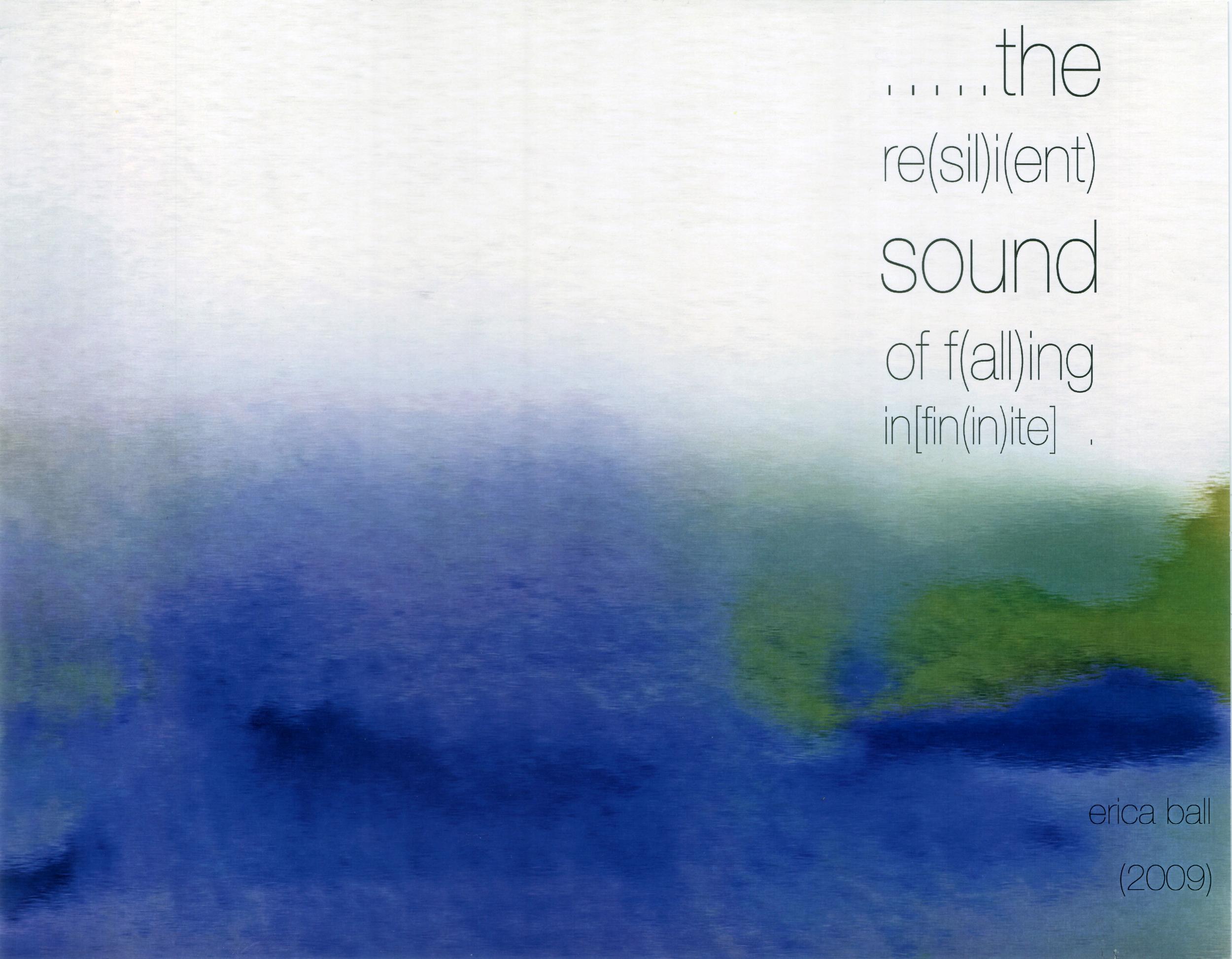 .....the re(sil)i(ent) sound  - for string quartet