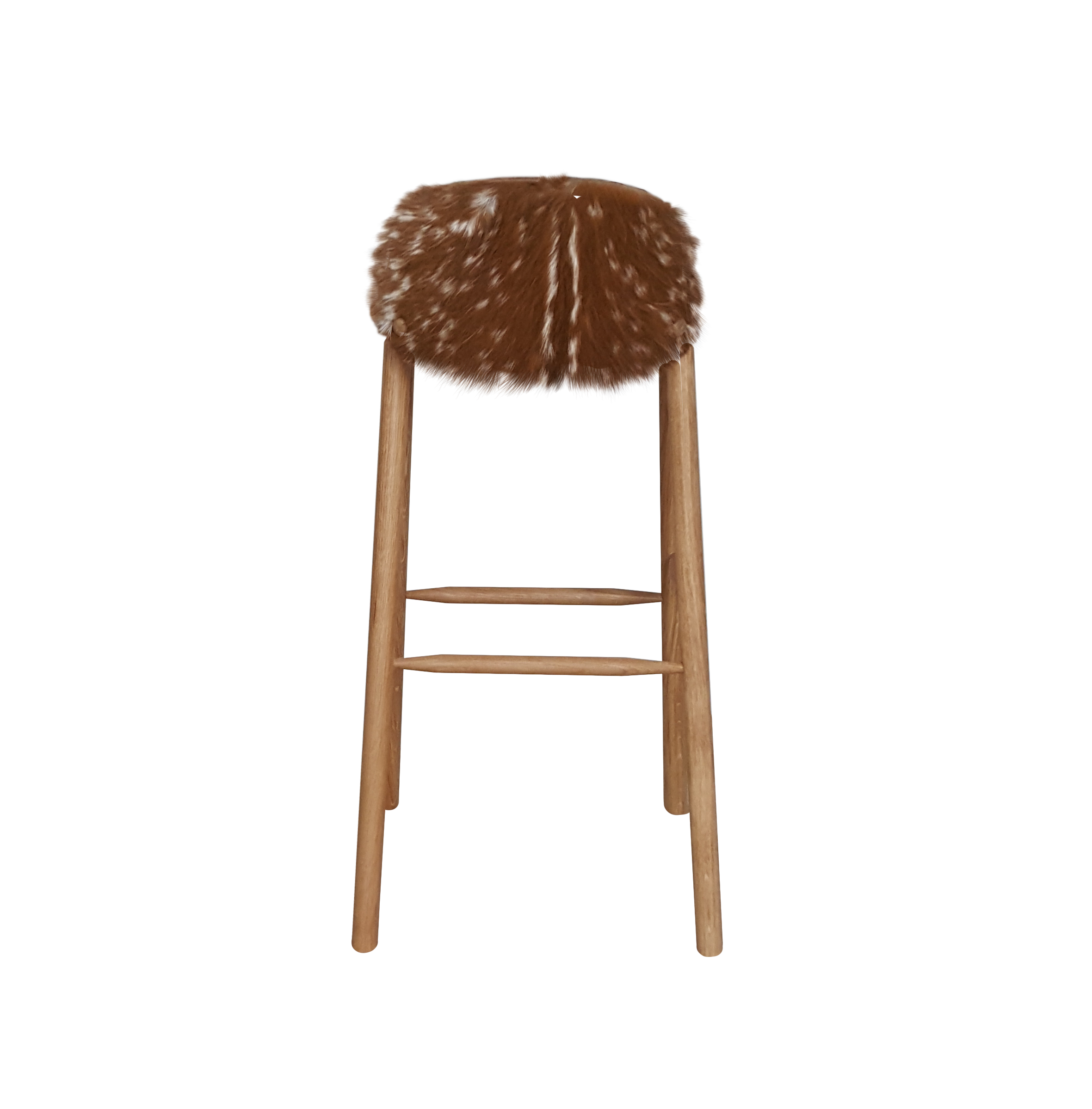 back Blond Deer Chair.png