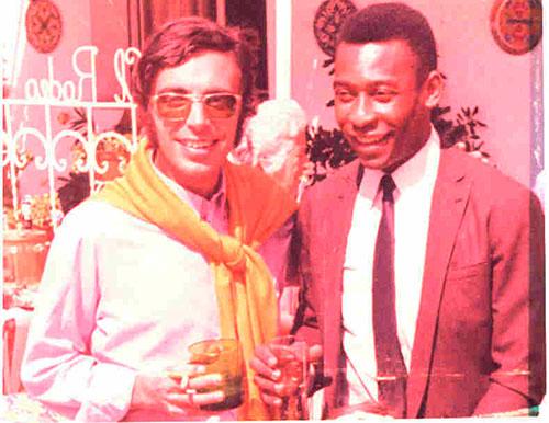 Santisteban, Pelé y un par de whiskys