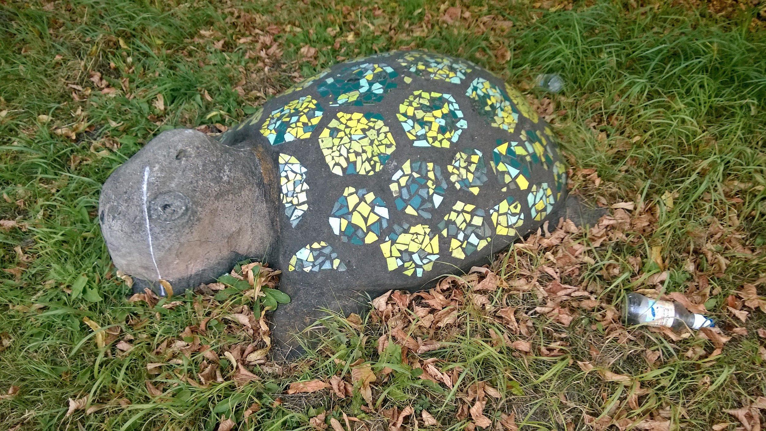 Brutalist Tortoise.