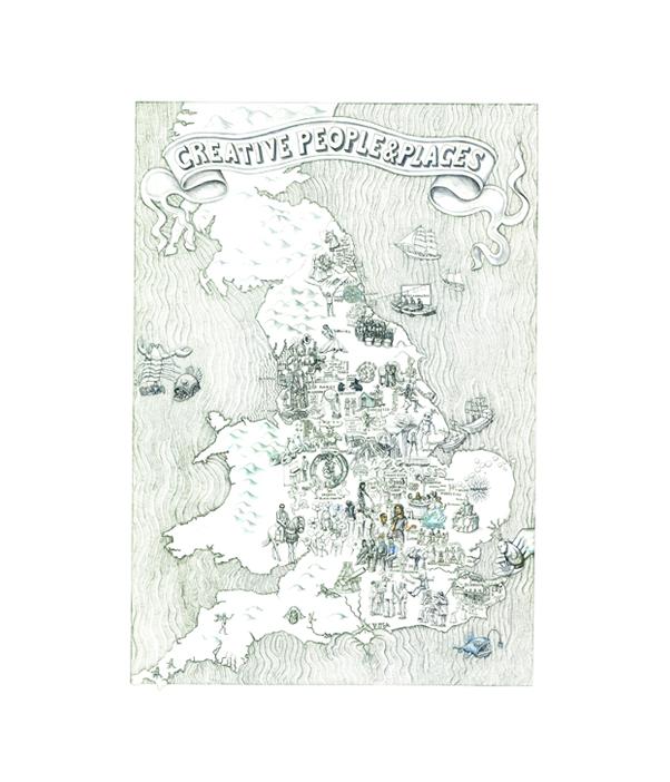 Map, Nicole Mollet, 2016