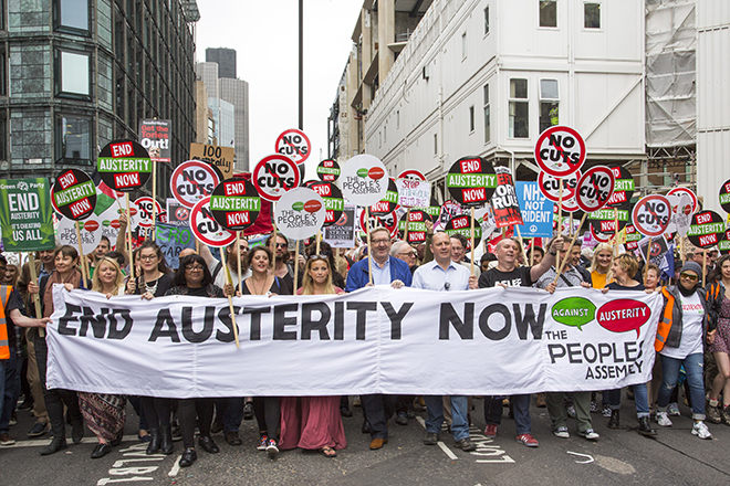 People's Assembly Anti-Austerity demo, 2015