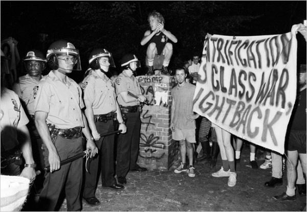 Tompkins  Square  Park Riot (1988).