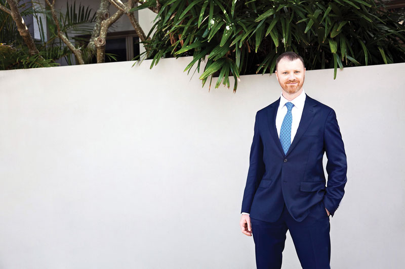 Adam Reeves, director of Ray White Manly.