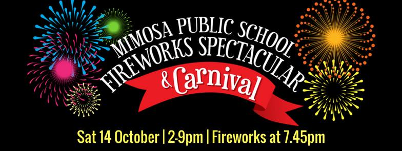 Mimosa Fireworks 2017