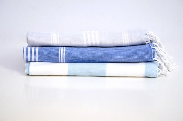 Turkish style beach towels in organic cotton. $19 each or 2 for $30