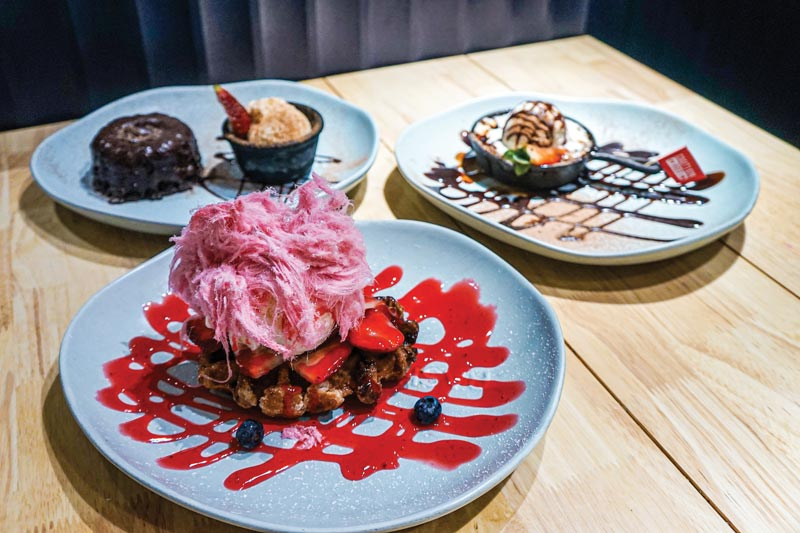 There's something for everyone at RASHAYS — COVERED  HUB