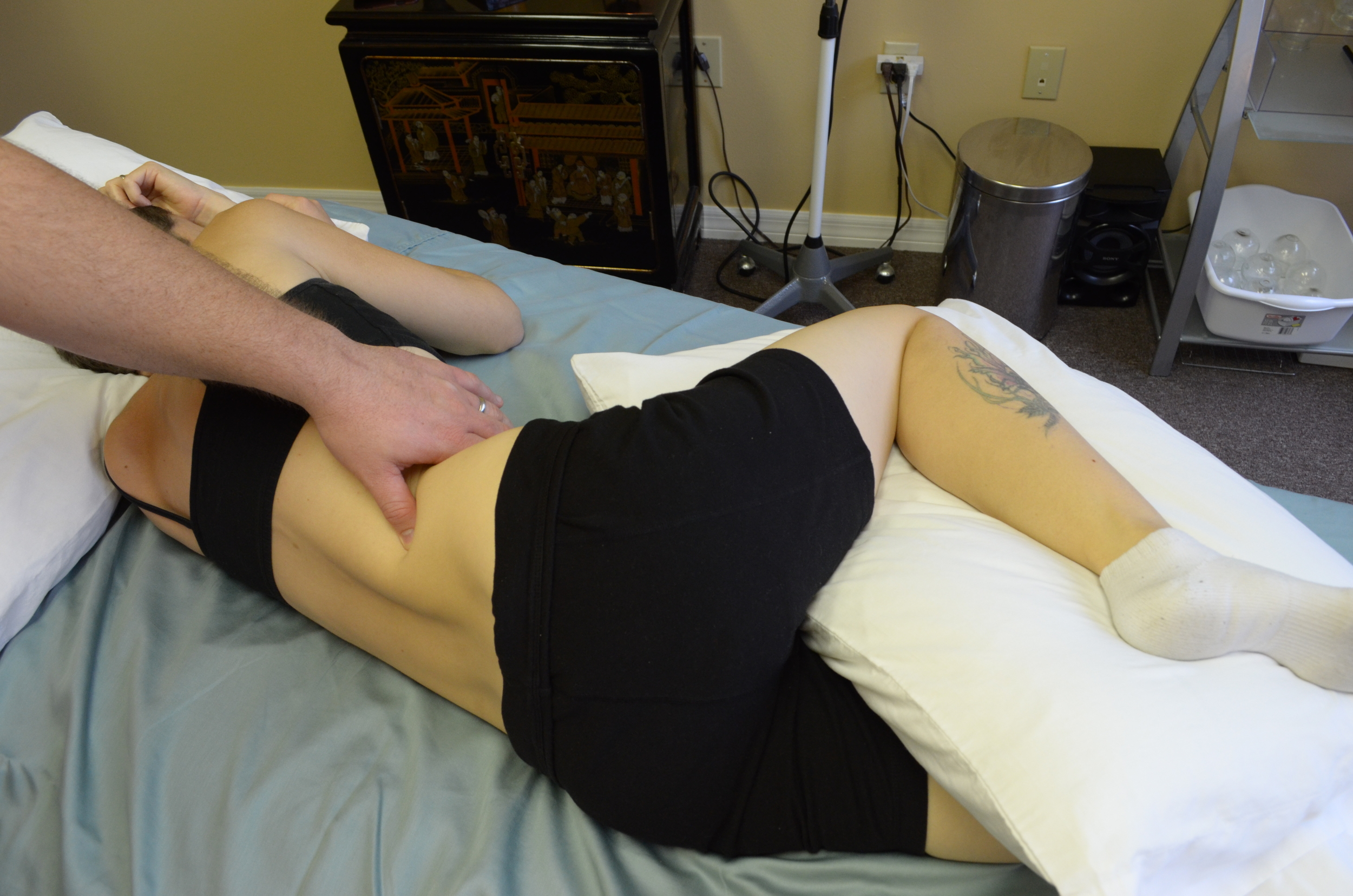 Trigger Point & Positional Release for Low Back Pain. Great deep tissue massage technique used in Orlando, Florida
