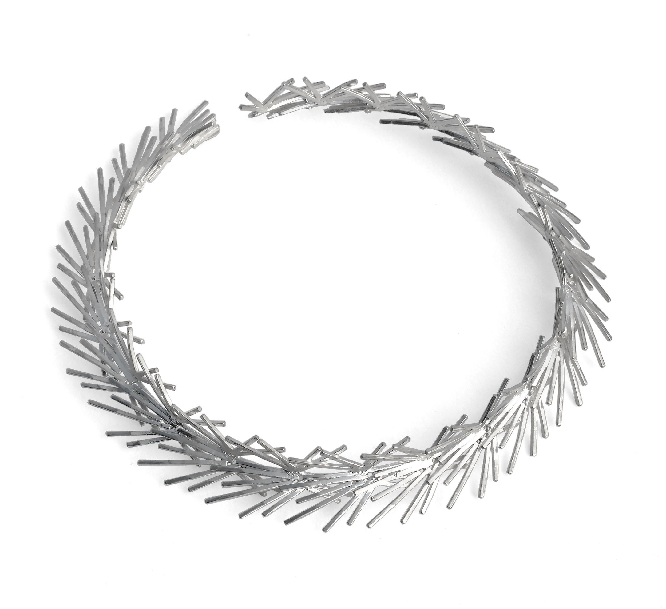 Wreath Necklace    Silver 925