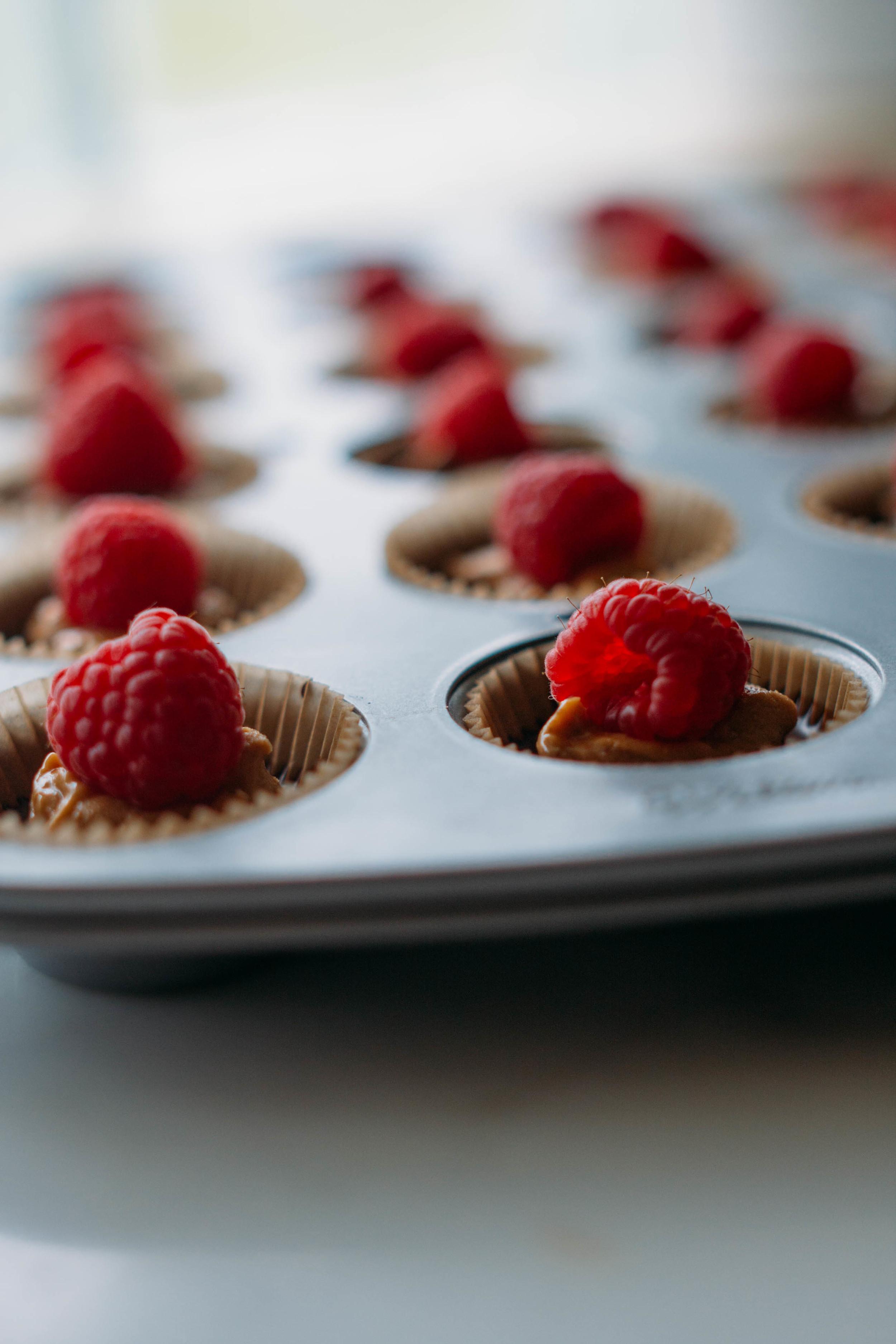 chocolate+raspberry+peanutbutter+cups