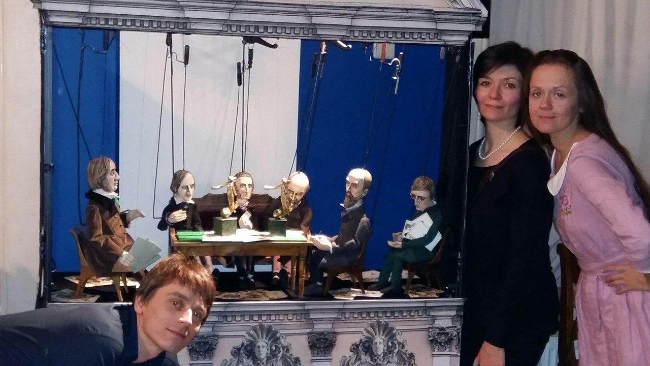Наши на выставке Золотой софит.jpg