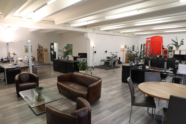 Die neuen Büroräumlichkeiten von generation y in Luzern Süd.