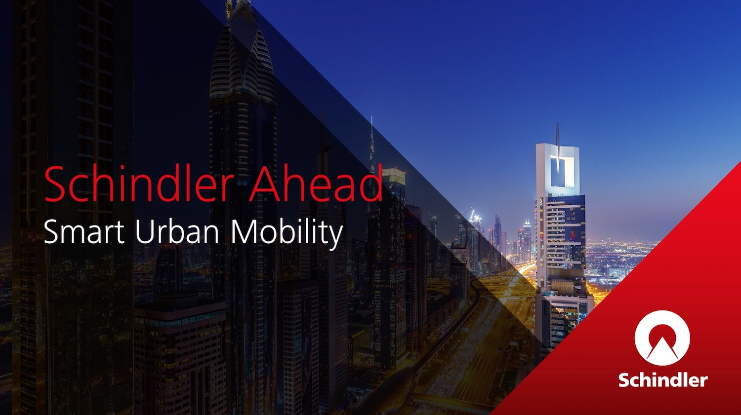 Schinder Ahead | Smart Urban Mobility