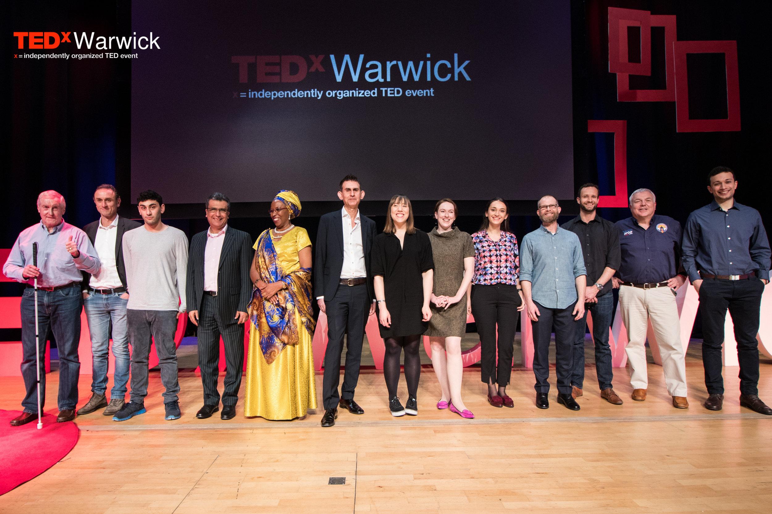 TEDxBreaking Boundaries Warwick, UK 2017