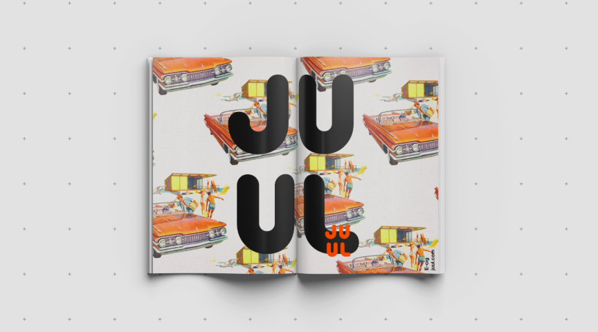 JUUL two page spread