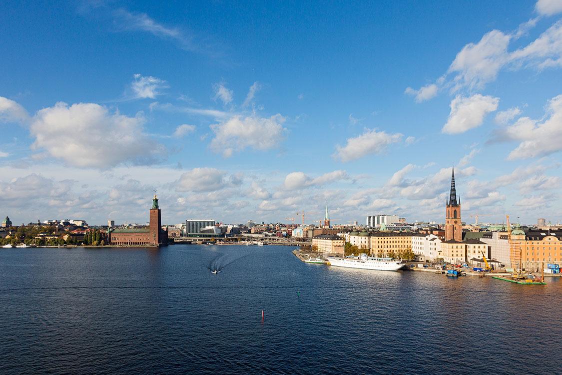 Mälarsee, Kungsholmen, Riddarholmen, Stockholm 2014