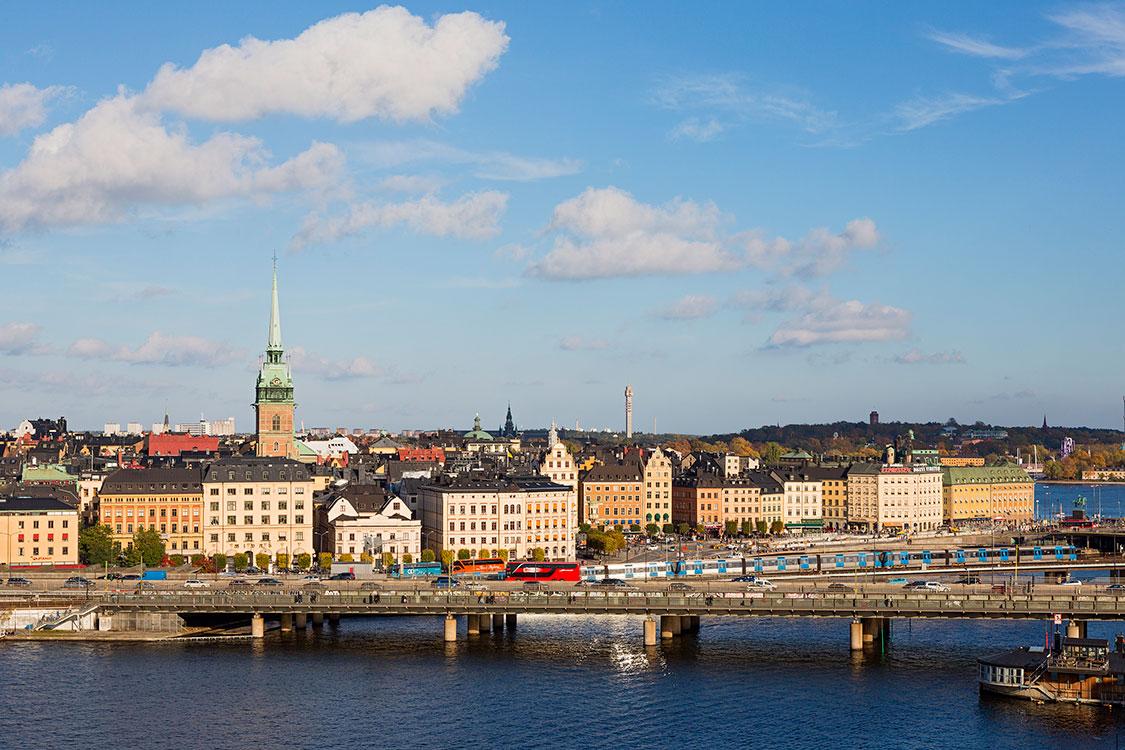 Centralbron, Gamla Stan, Stockholm 2014