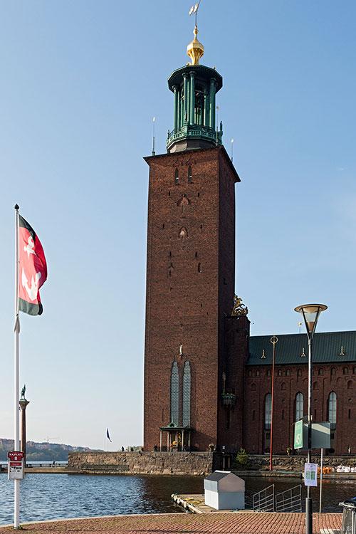 Rathausturm, Stockholm 2014