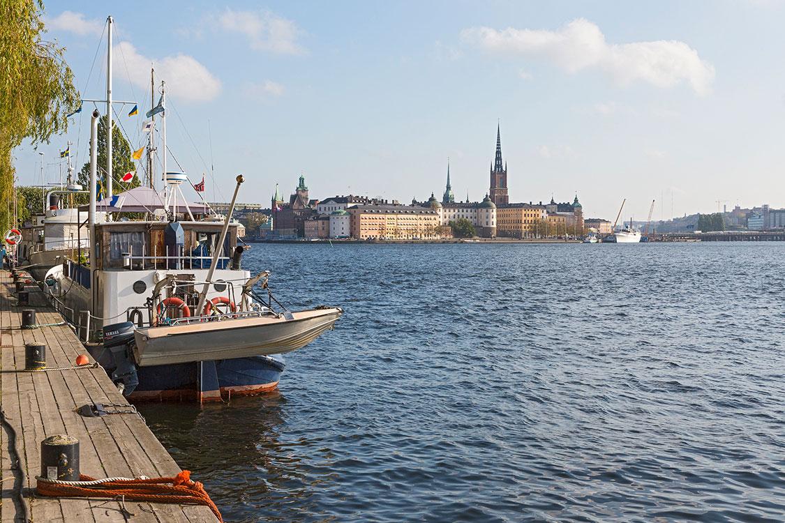 Norr Mälarstrand, Riddarholmen, Stockholm 2014