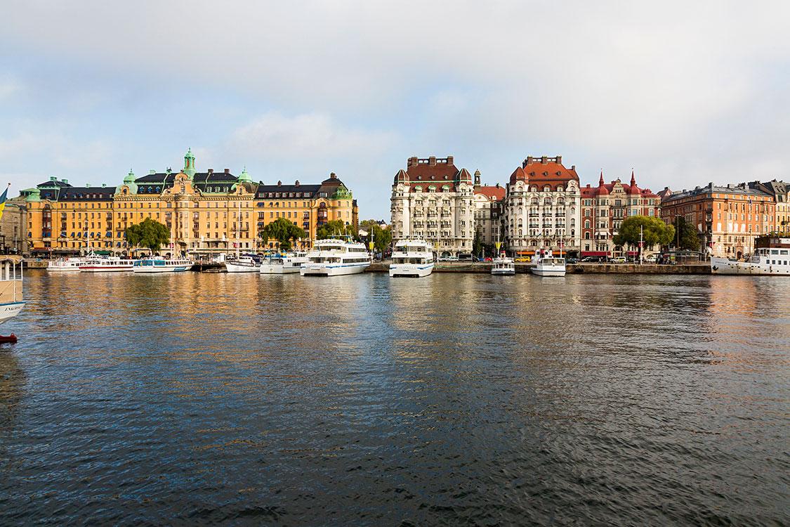 Strandvägen, Stockholm 2014